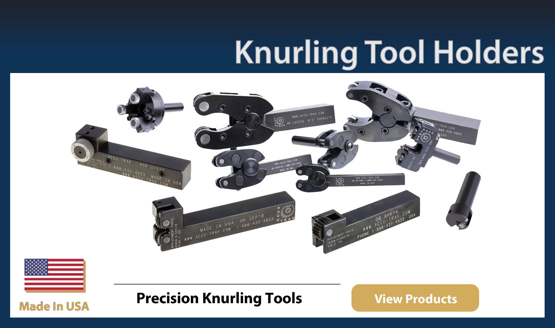 Knurl Tool Holders